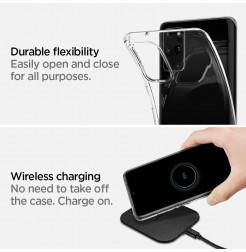 8252 - Spigen Liquid Crystal силиконов калъф за Samsung Galaxy S20+ Plus