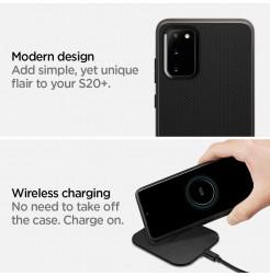 8259 - Spigen Neo Hybrid удароустойчив калъф за Samsung Galaxy S20+ Plus