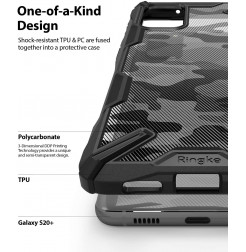 8286 - Ringke Fusion X хибриден кейс за Samsung Galaxy S20+ Plus