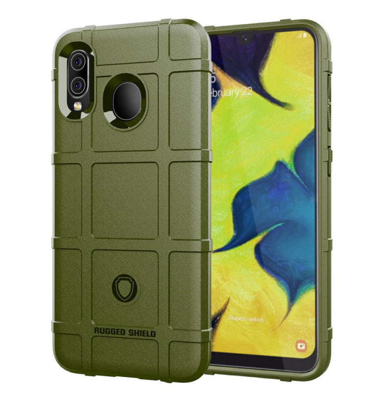 834 - MadPhone Shield силиконов калъф за Samsung Galaxy A30