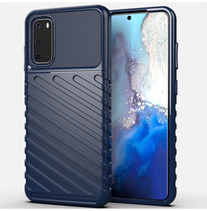 8371 - MadPhone Thunder силиконов кейс за Samsung Galaxy S20+ Plus
