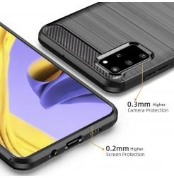 8388 - MadPhone Carbon силиконов кейс за Samsung Galaxy S20+ Plus
