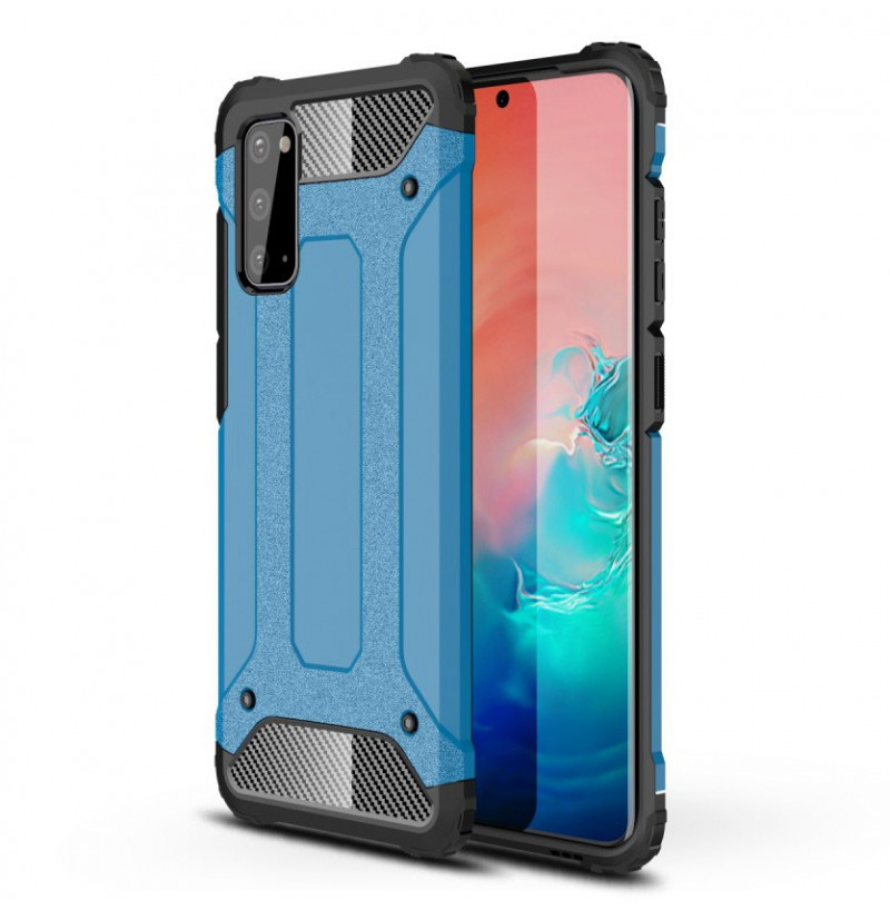 8433 - MadPhone Armor хибриден калъф за Samsung Galaxy S20+ Plus