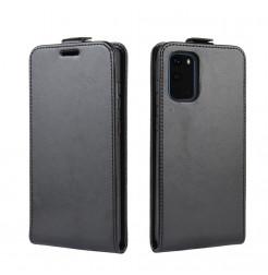 8530 - MadPhone Flip кожен калъф за Samsung Galaxy S20+ Plus