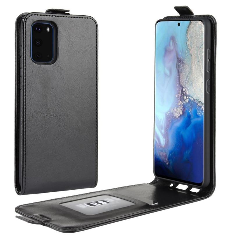 8531 - MadPhone Flip кожен калъф за Samsung Galaxy S20+ Plus
