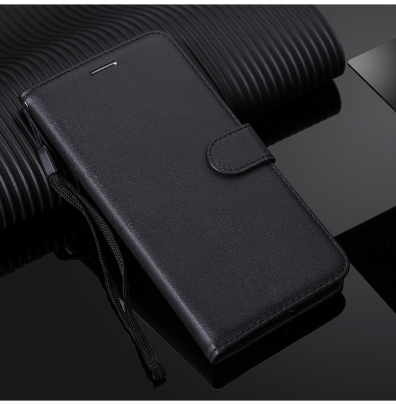 8533 - MadPhone Classic кожен калъф за Samsung Galaxy S20+ Plus