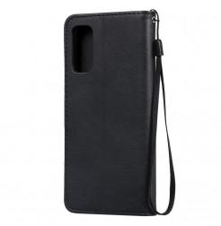 8534 - MadPhone Classic кожен калъф за Samsung Galaxy S20+ Plus