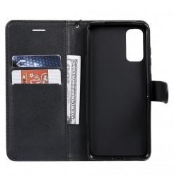 8535 - MadPhone Classic кожен калъф за Samsung Galaxy S20+ Plus