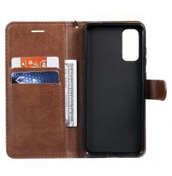 8543 - MadPhone Classic кожен калъф за Samsung Galaxy S20+ Plus
