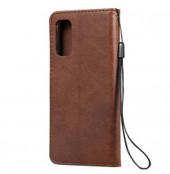 8544 - MadPhone Classic кожен калъф за Samsung Galaxy S20+ Plus