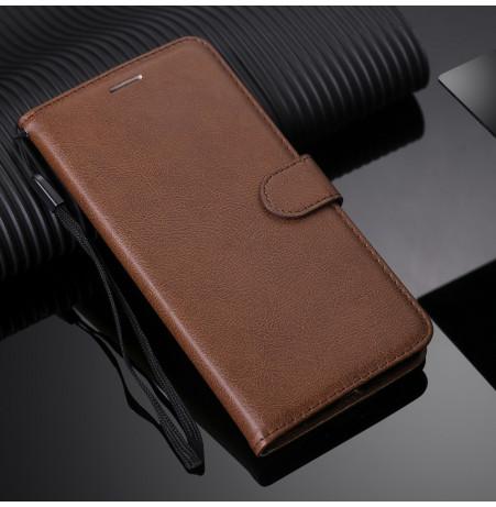 8547 - MadPhone Classic кожен калъф за Samsung Galaxy S20+ Plus
