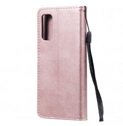 8553 - MadPhone Classic кожен калъф за Samsung Galaxy S20+ Plus