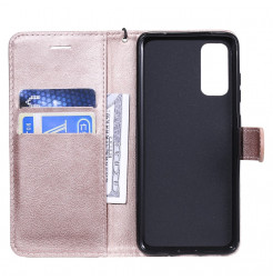 8554 - MadPhone Classic кожен калъф за Samsung Galaxy S20+ Plus