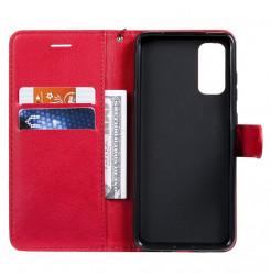 8564 - MadPhone Classic кожен калъф за Samsung Galaxy S20+ Plus