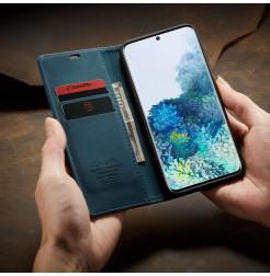 8597 - CaseMe премиум кожен калъф за Samsung Galaxy S20+ Plus