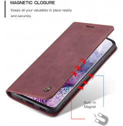 8605 - CaseMe премиум кожен калъф за Samsung Galaxy S20+ Plus