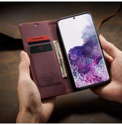 8608 - CaseMe премиум кожен калъф за Samsung Galaxy S20+ Plus