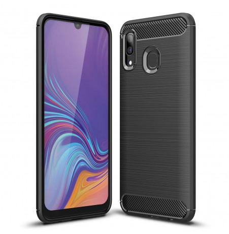 861 - MadPhone Carbon силиконов кейс за Samsung Galaxy A30
