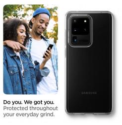8630 - Spigen Liquid Crystal силиконов калъф за Samsung Galaxy S20 Ultra