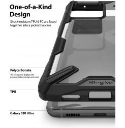 8661 - Ringke Fusion X хибриден кейс за Samsung Galaxy S20 Ultra