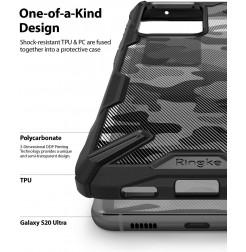 8672 - Ringke Fusion X хибриден кейс за Samsung Galaxy S20 Ultra