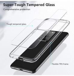 8708 - ESR Ice Shield хибриден стъклен калъф за Samsung Galaxy S20 Ultra