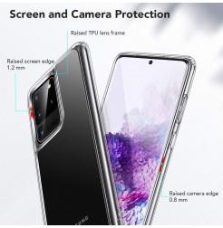 8711 - ESR Ice Shield хибриден стъклен калъф за Samsung Galaxy S20 Ultra