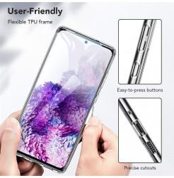 8712 - ESR Ice Shield хибриден стъклен калъф за Samsung Galaxy S20 Ultra