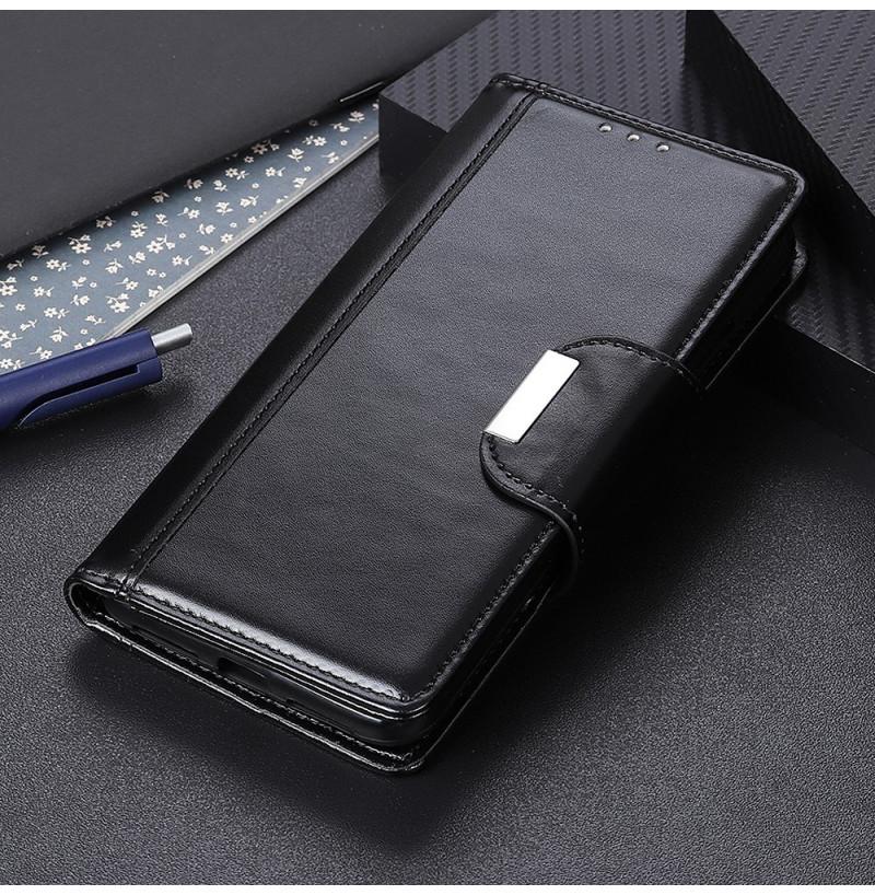 873 - MadPhone Bussines кожен калъф за Samsung Galaxy A30