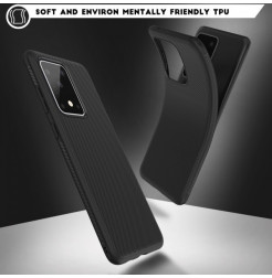 8768 - MadPhone релефен TPU калъф за Samsung Galaxy S20 Ultra