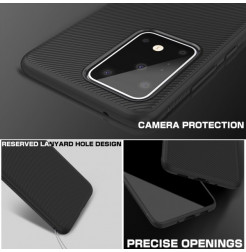 8769 - MadPhone релефен TPU калъф за Samsung Galaxy S20 Ultra