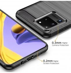 8785 - MadPhone Carbon силиконов кейс за Samsung Galaxy S20 Ultra