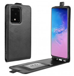 8971 - MadPhone Flip кожен калъф за Samsung Galaxy S20 Ultra