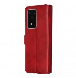 8989 - MadPhone Classic кожен калъф за Samsung Galaxy S20 Ultra