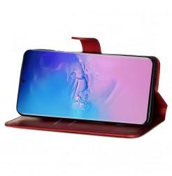 8991 - MadPhone Classic кожен калъф за Samsung Galaxy S20 Ultra