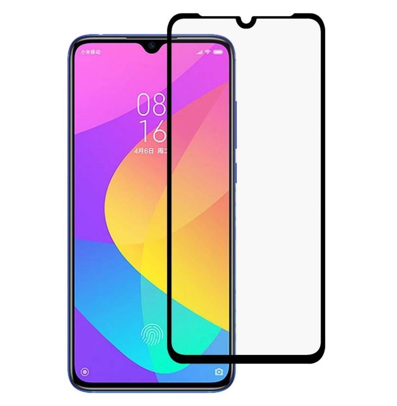9074 - 3D стъклен протектор за целия дисплей Xiaomi Mi 9 Lite / CC9