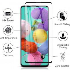 911 - 5D стъклен протектор за Samsung Galaxy A51