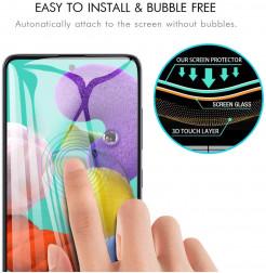 912 - 5D стъклен протектор за Samsung Galaxy A51