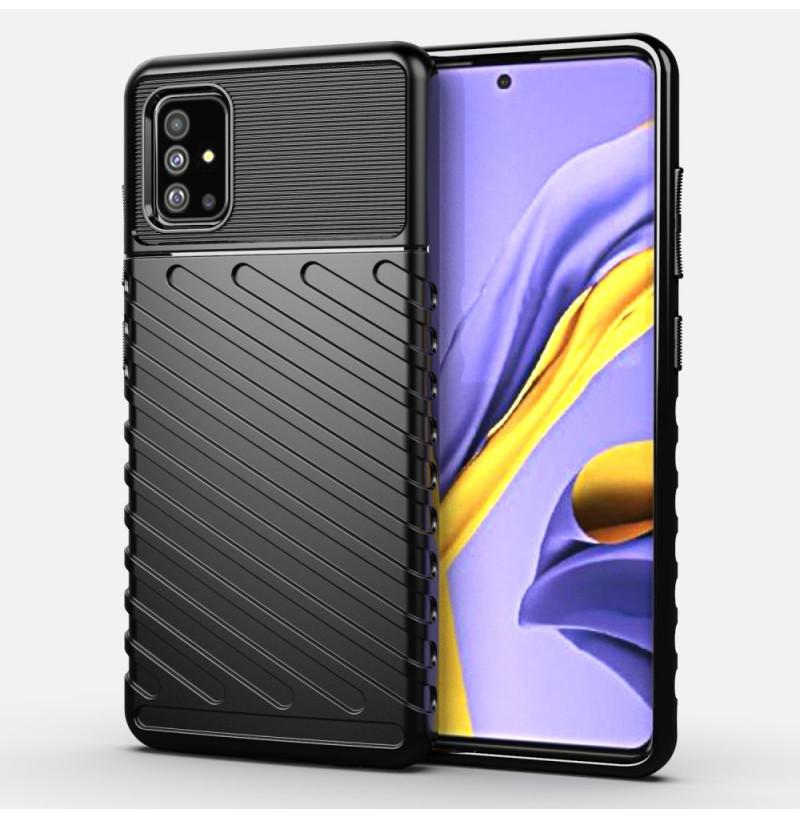 966 - MadPhone Thunder силиконов кейс за Samsung Galaxy A51