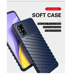 978 - MadPhone Thunder силиконов кейс за Samsung Galaxy A51