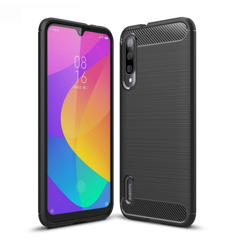 9799 - MadPhone Carbon силиконов кейс за Xiaomi Mi A3 / CC9e