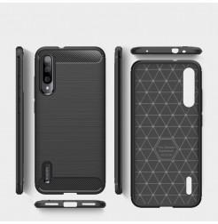 9804 - MadPhone Carbon силиконов кейс за Xiaomi Mi A3 / CC9e