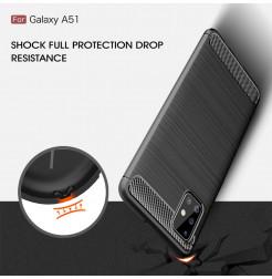 997 - MadPhone Carbon силиконов кейс за Samsung Galaxy A51