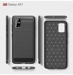 999 - MadPhone Carbon силиконов кейс за Samsung Galaxy A51